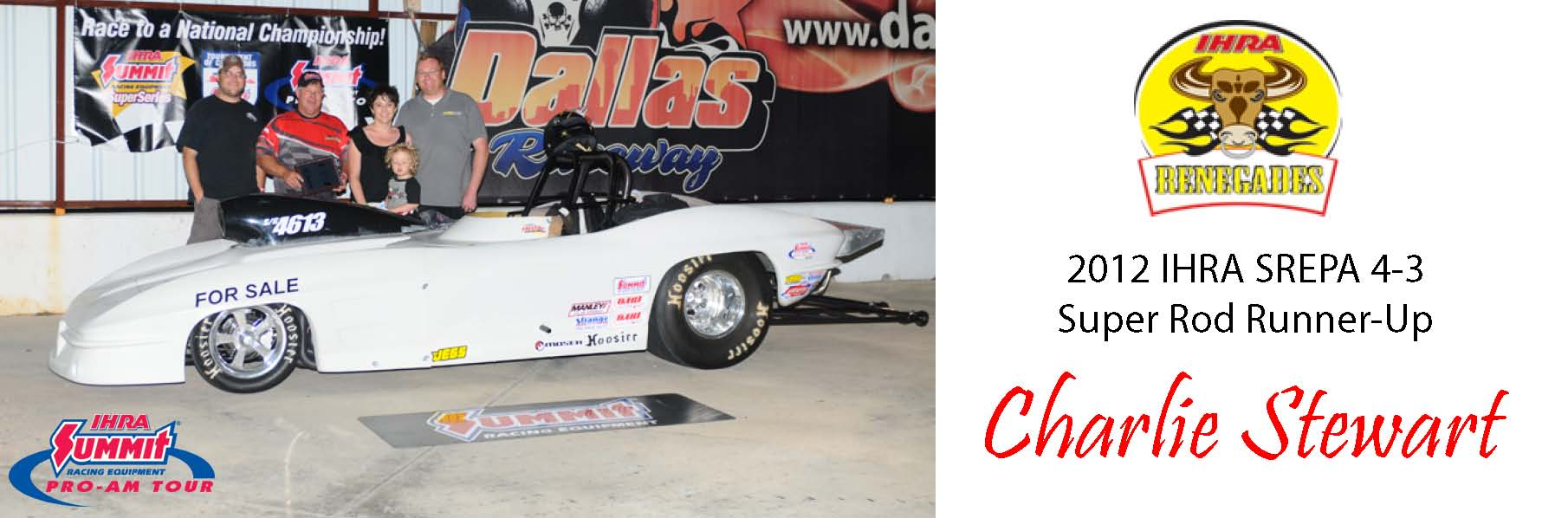 Stewart Races to Runner-Up Finish at IHRA Pro-Am in Crandall, TX