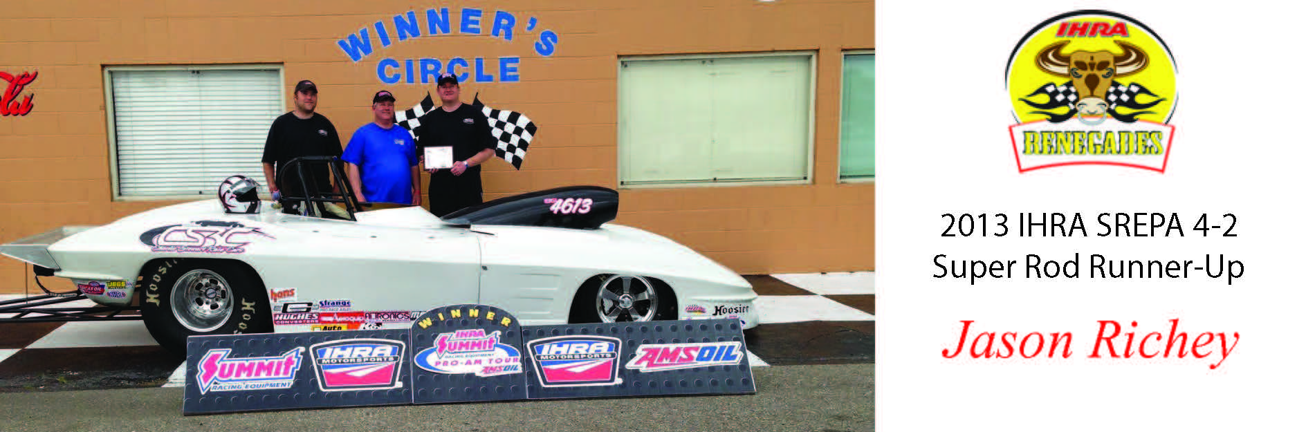Richey Races to Runner-Up Finish at IHRA Pro-Am in Port Allen, LA
