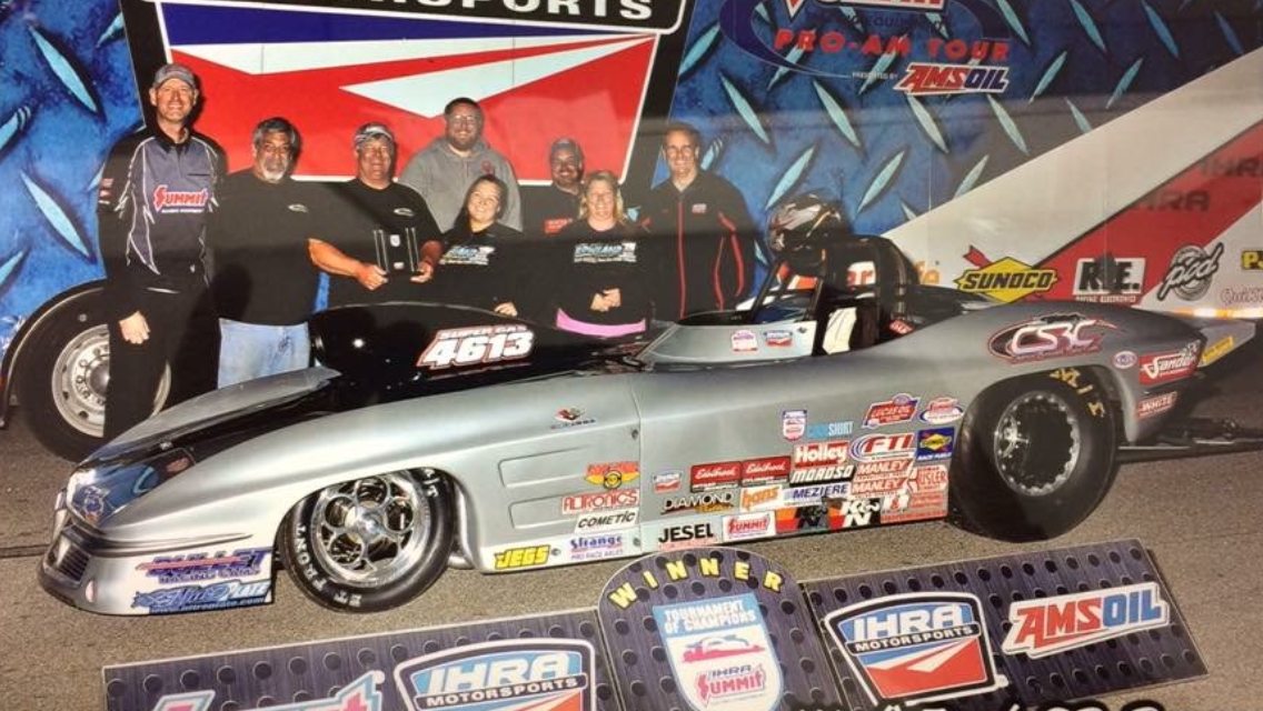 Charlie Stewart Finishes # 2 in 2016 IHRA Super Rod Championship
